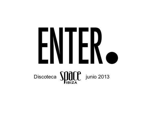 Discoteca junio 2013