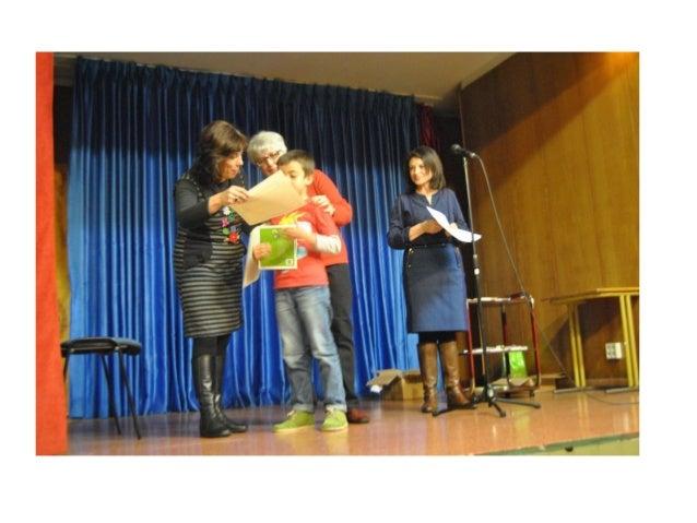 Presentación entrega de premios 2013