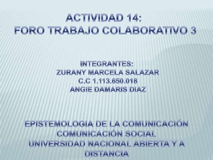 TEMA DESARROLLADO DESDE EL    ENFOQUE TRANSDISCIPLINARIOPROYECTO TRANSDISCIPLINARIO DEL CENTRO DEESTUDIOS UNIVERSITARIOS A...