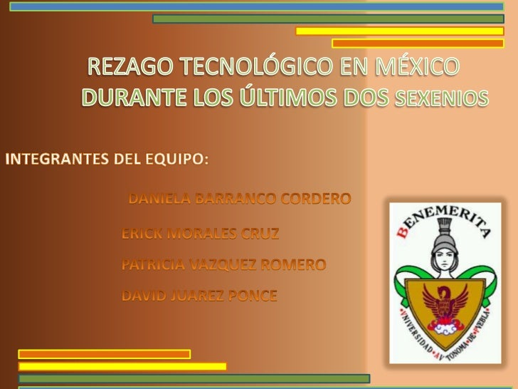 Rezago                                                           Tecnológico         http://sala.clacso.org.ar/gsdl/cgi-bi...