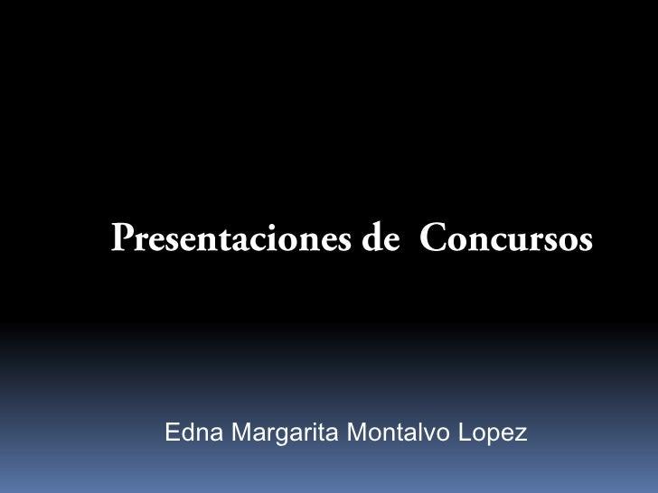 Edna Margarita Montalvo Lopez