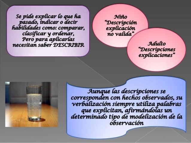 Textos científicos, las descripcionesforman parte del modelo teórico.-Seleccionar las características ovariables mas signi...