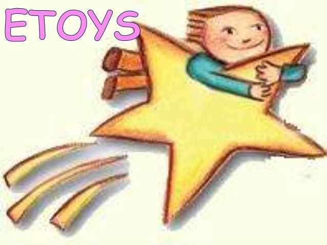 """Etoys en      Inglés   significa   """"juguetesvirtuales"""".Es una ambiente multimedia que permitemodelar objetos de muchas cla..."""