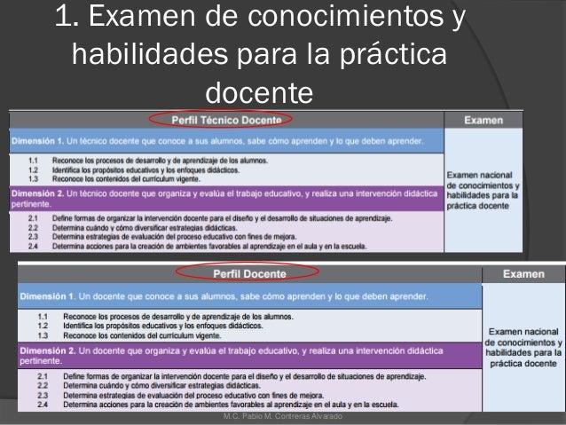 examen de evaluaci n docente sep 2016