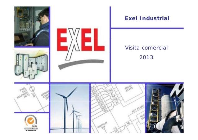 Exel Industrial Visita comercial 2013