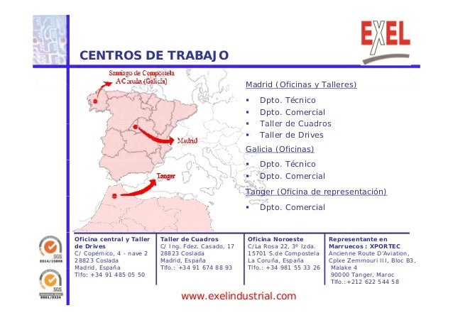Exel industrial presentaci n comercial 2014 for Oficina empleo coslada