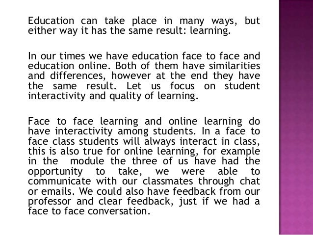 5 Benefits of Studying Online (vs. Face-to-Face Classroom)