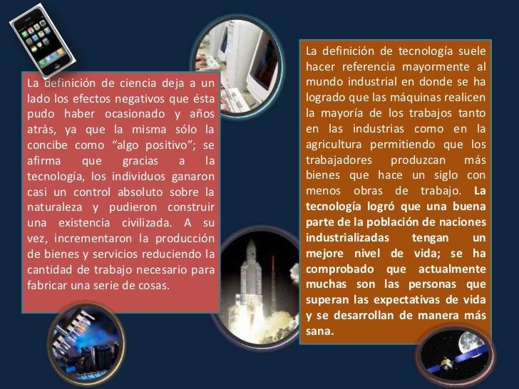 Ciencia aplicada Ciencia aplicadaConsiste en la aplicación del conocimiento científicoteórico (la llamada ciencia básica o...