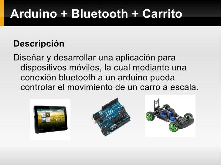 Android bluetooth arduino