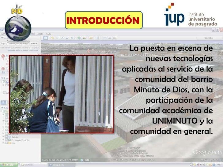 INTRODUCCIÓN          La puesta en escena de               nuevas tecnologías         aplicadas al servicio de la         ...