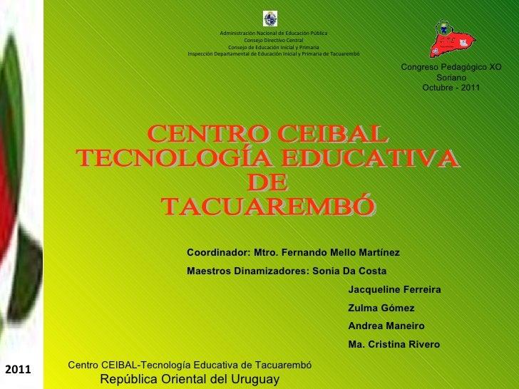 Administración Nacional de Educación Pública Consejo Directivo Central Consejo de Educación Inicial y Primaria Inspección ...