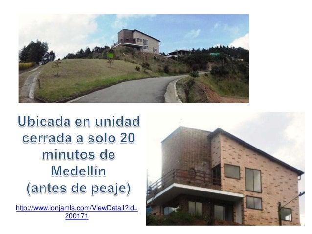 http://www.lonjamls.com/ViewDetail?id=200171 PARA ESTRENAR: Casa en 2 niveles 3 alcobas, 2,5 baños Cocina integral Sala de...
