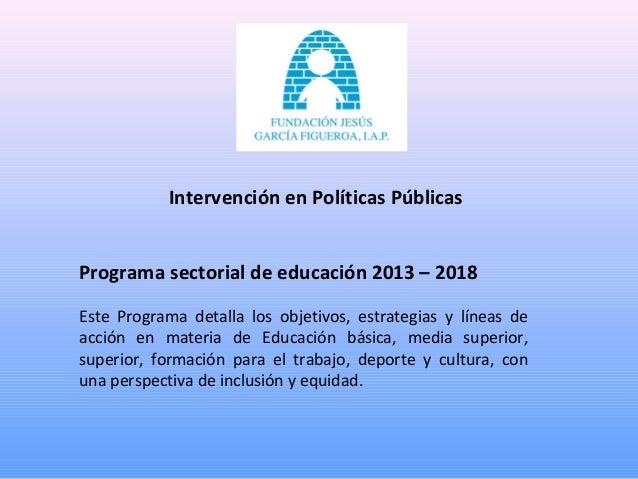 Contacto Minerva Rodríguez Díaz Directora y Representante Legal Fundación Jesús García Figueroa, I.A.P. Norte 27 No 2 Col....