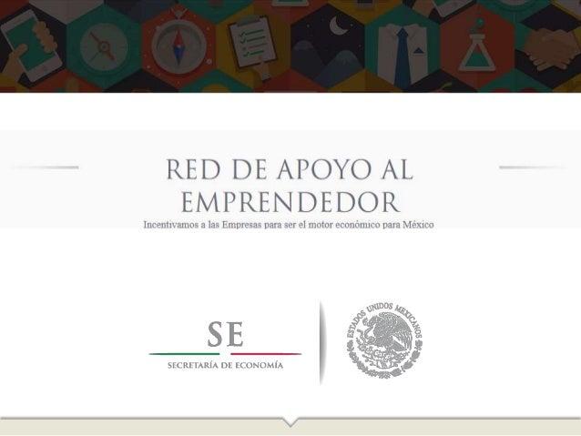 ¿Qué es la Red de Apoyo al Emprendedor?