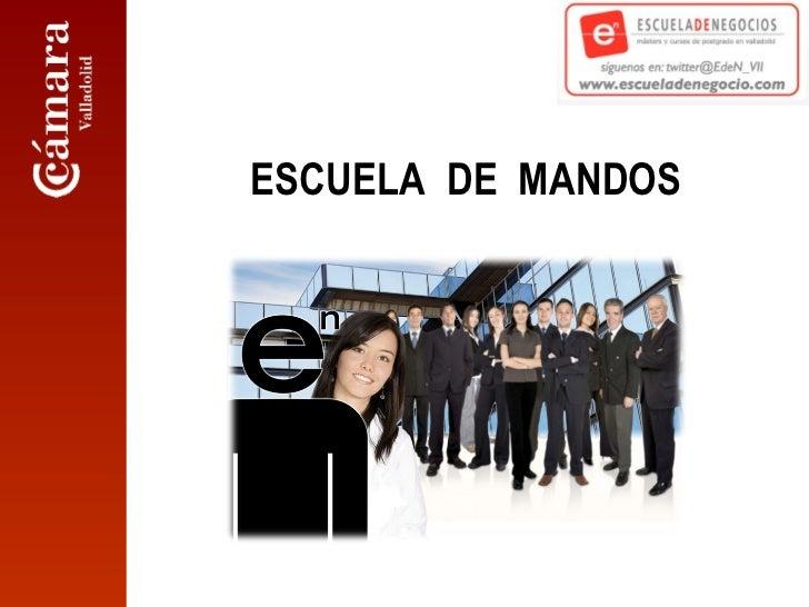 ESCUELA  DE  MANDOS