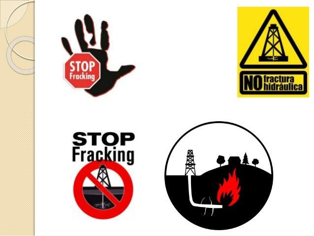 Resultado de imagen de no al fracking
