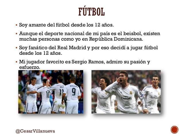 Presentación Fútbol - Exprésate  Aplicación IE César Villanueva Slide 2