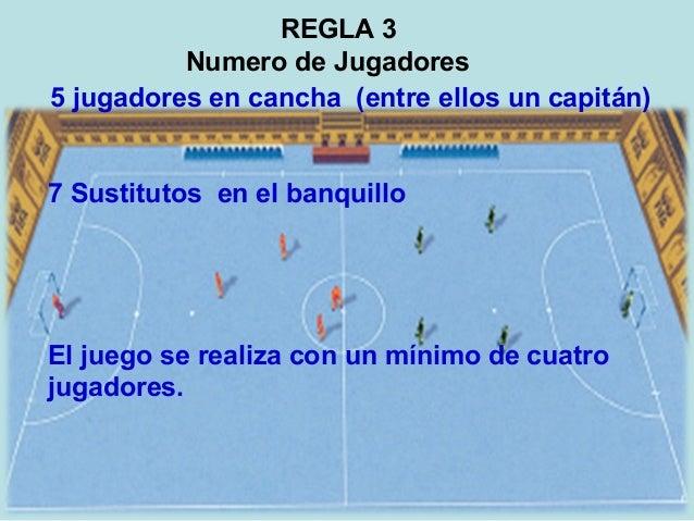 Taller sobre f tbol de sal n for 5 reglas del futbol de salon