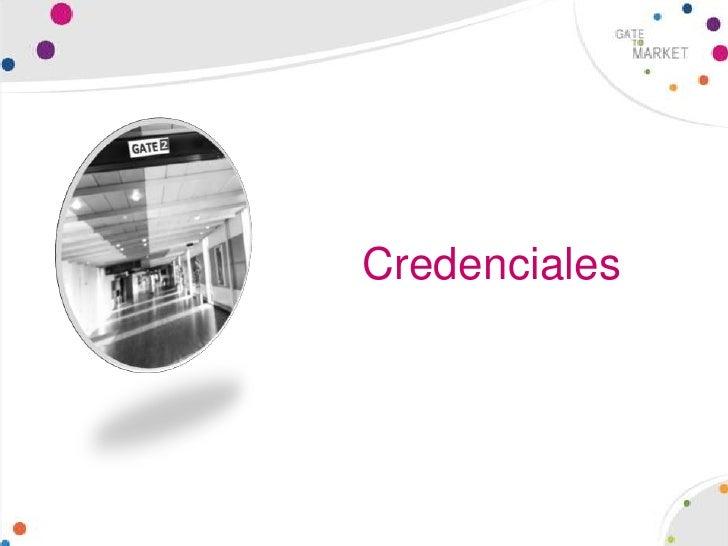 Credenciales<br />