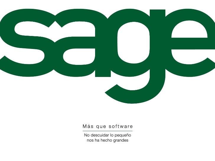 1   © 2009 Sage