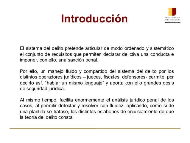 ENJ-2-301: Presentación General Curso Teoría del Delito AJP Slide 3