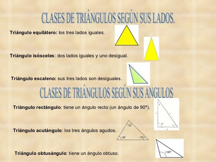 Presentacin geometra tipos de ngulos y tringulos