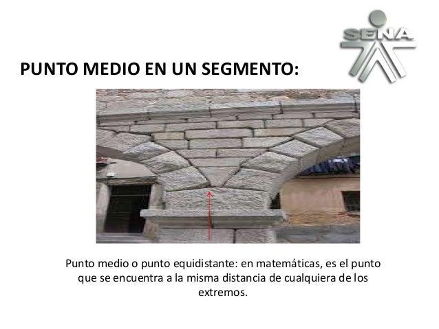 PUNTO MEDIO EN UN SEGMENTO: Punto medio o punto equidistante: en matemáticas, es el punto que se encuentra a la misma dist...