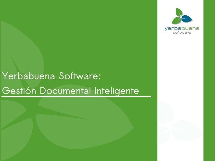 Yerbabuena Software: Gestión Documental Inteligente