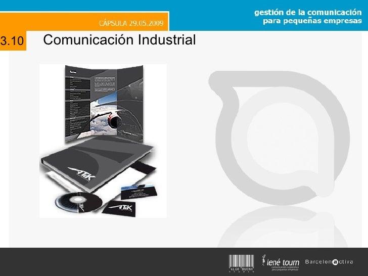Comunicación Industrial 3.10