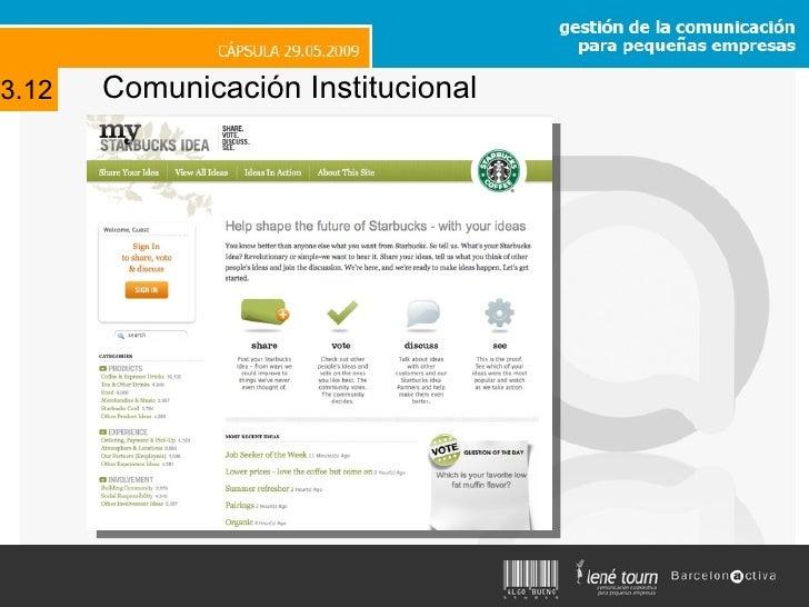 Comunicación Institucional 3.12