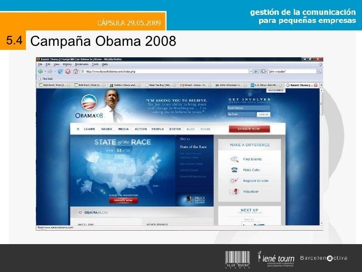 Campaña Obama 2008 5.4