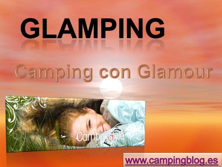 Presentación Glamping