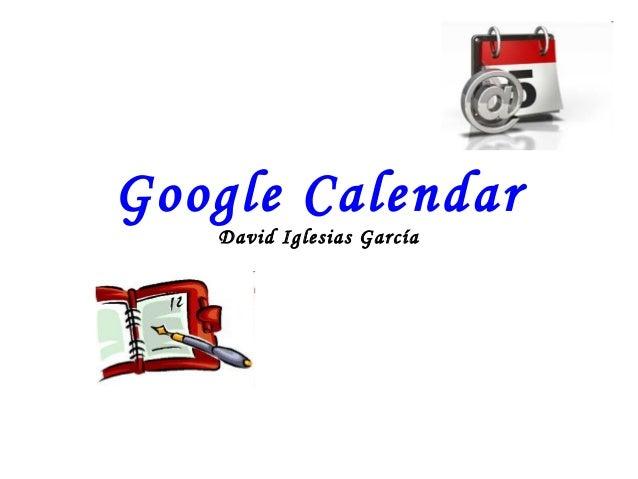 Google Calendar David Iglesias García