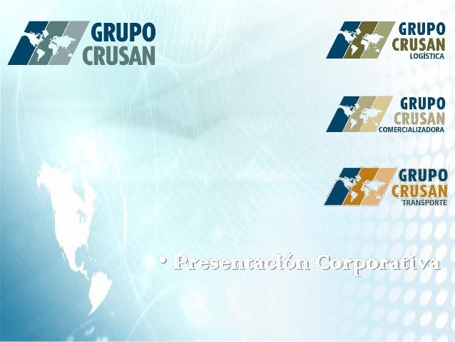 • Presentación Corporativa