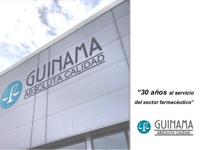 """""""30 años al servicio del sector farmacéutico"""""""