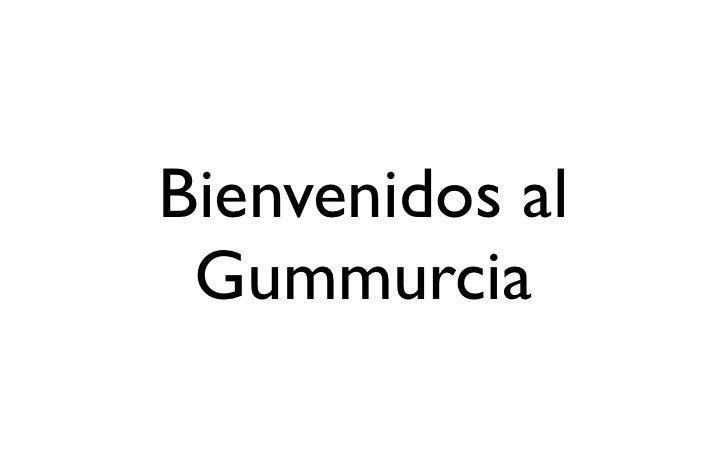 Bienvenidos al Gummurcia