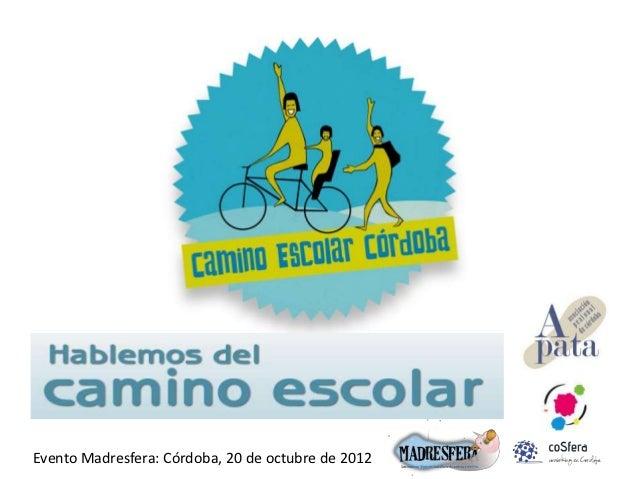 Evento Madresfera: Córdoba, 20 de octubre de 2012