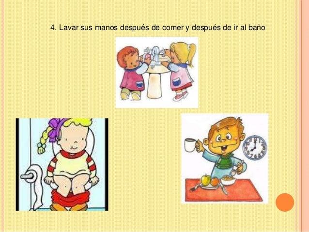 Presentaci n higiene sandra - Dieta para ir al bano ...