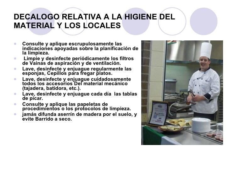 Higiene y seguridad en la cocina higiene y seguridad en for Normas de higiene personal en la cocina