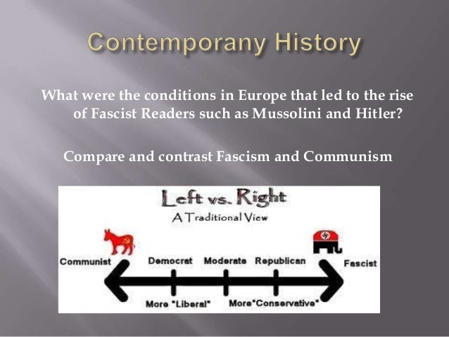 an analysis of rise of fascism and communism in europe Why marxism is on the rise again the communist manifesto: and responsible for more deaths than fascism and nazism.