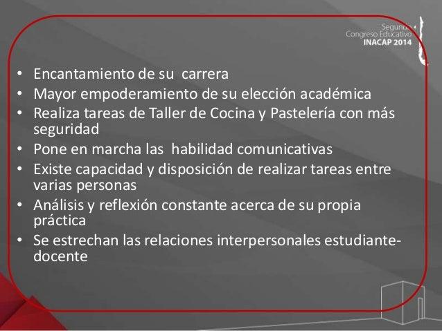 RESULTADOS  101  100  99  98  97  96  95  94  93  92  % DESERCIÓN DE LA CARRERA DE  GASTRONOMÍA EN INACAP MAIPÚ  5,2%  94....