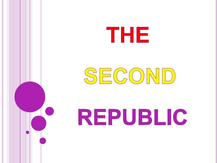 INDEX1.- Introduction and historical context.2.- Republic Proclamation :          The Constitution of 1931.          Symbo...