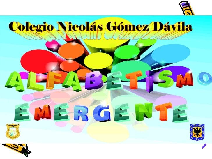 IMPACTO DE UNPROGRAMA EN  EL USO DE ESTATEGIAS DE   ALFABETISMO EMERGENTE,JUGADO CON LAS PALABRAS EN    EL DESCUBRIMIENTO ...