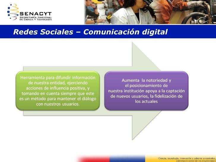 Redes Sociales – Comunicación digital