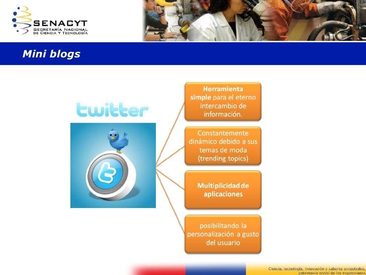 Mini blogs