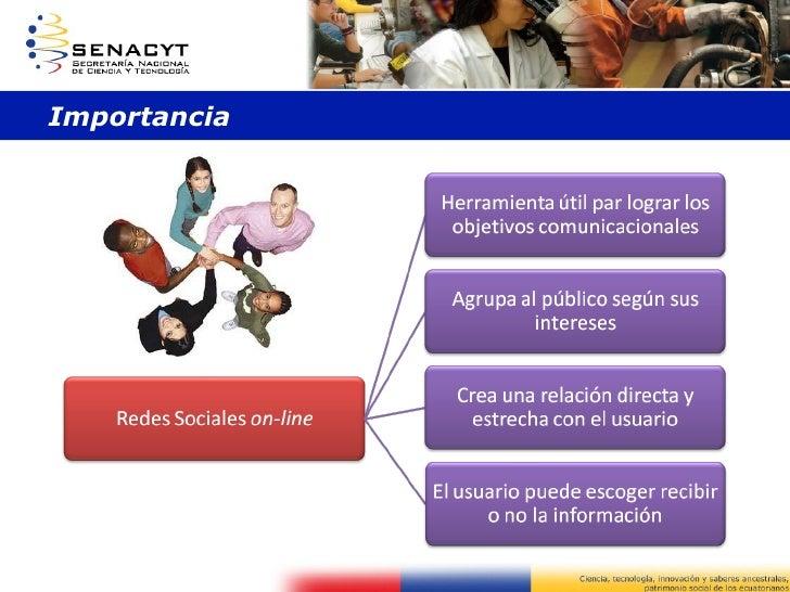 Presentación importancia redes sociales Slide 3