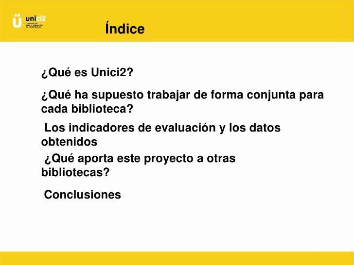 Formar en competencias informacionales de forma cooperativa en bibliotecas universitarias españolas Slide 2