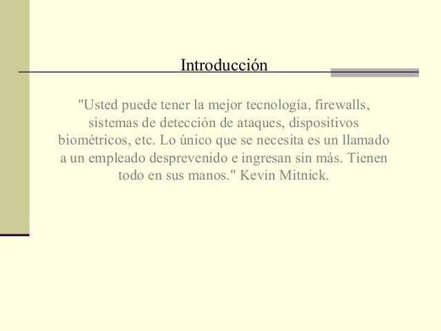 Presentación Ingeniería social Slide 2