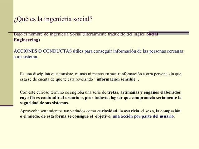 Presentación Ingeniería social Slide 3