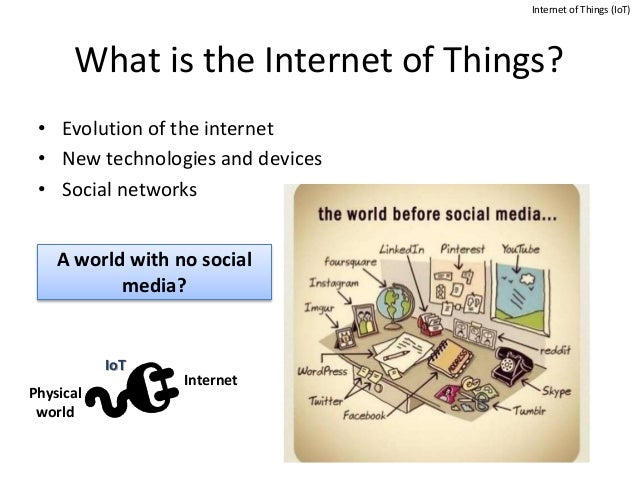 definitions on the internet of things essay How do industry experts view the development of the internet of things, and what would they change  the internet of things: five critical questions.